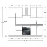 Cucina G.01 cm 255