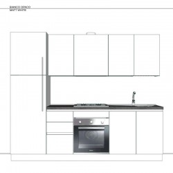 Cucina G.02 cm 255
