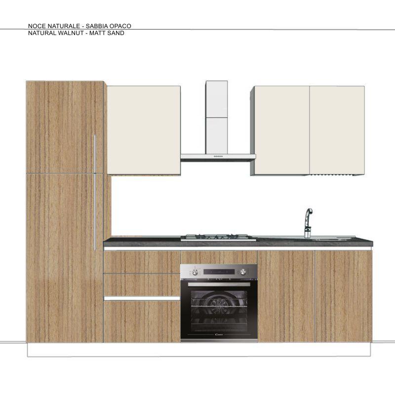Cucina G 03 Cm 270